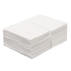БЬЮТИ Полотенце Комфорт спанлейс 35x70 белое (50шт) (10уп)