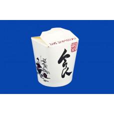 Короб бумажный China Pack 450мл (50шт/уп., 500шт./кор.)