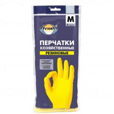 Перчатки резиновые AVIORA М (120пар)