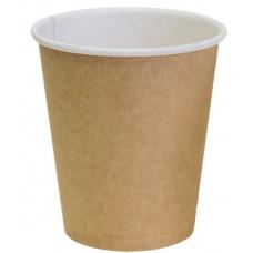 Бумажный стакан Виридо 185мл-205мл Крафт d -73 мм 60шт/уп (25уп./кор.) 1500шт.