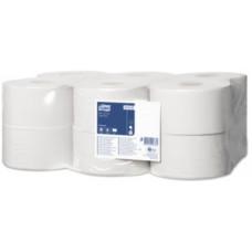 120197-61 Tork туалетная бумага в мини рулонах 1сл. 200м. 12рул.