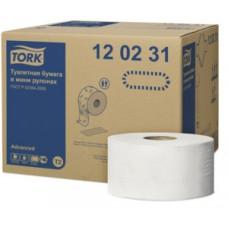 120231-00 Tork туалетная бумага в мини рулонах 2сл. 170м. 12 рул.