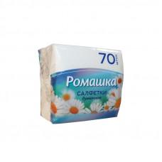 "Салфетка ""Ромашка"" бел (70л) (20)"