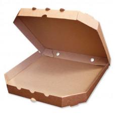 Коробка под пиццу 40*40 гофро бурая 100шт*уп
