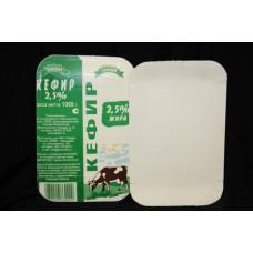 Тарелка 130х200 мм молоко,ламинир.картон 100шт/уп (1000шт)