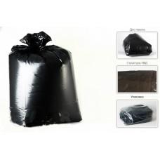 Мешок д/мусора 240л ПВД (60мк) в пластах