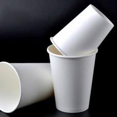 Бумажный стакан 165мл Лига-Пак d -70 мм ГН Белый 2000шт. По 50шт