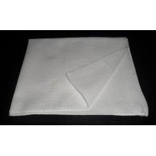 Вафельное полотенце белое 45х70