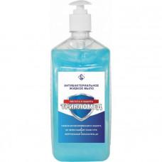 Флореаль мыло жидкое антибактериальное Трикломед с дозатором 1кг (9шт/кор)