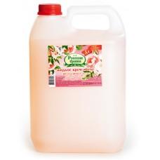 """Крем-мыло туалетное жидкое """"Русские травы"""" 5 л."""