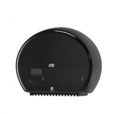 555008-60 Tork диспенсер для туалетной бумаги в мини-рулонах черный