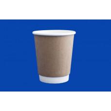 Бумажный стакан Виридо 250мл диам.80мм ГН Крафт 2-х слойные (20уп*30шт) 600шт/кор