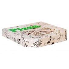 Коробка под пиццу 31*31 белая с печатью 100/уп