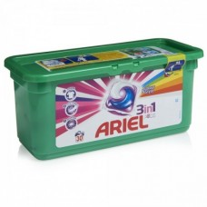 Капсулы для стирки Ariel Color 3 in1 Pods, 30 шт.