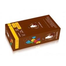 Перчатки Safe&Care смотровые латексные повышенной прочности LL 215 М