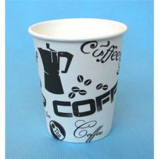 Бумажный стакан Виридо 185мл-205мл d -73 мм ГН Кофе черный 60шт/уп (25уп./кор.) 1500шт.