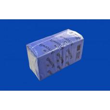 Салфетки 24х24 1-сл. (АСТОРИЯ) 400л/4уп синие
