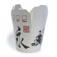Короб бумажный China Pack 700мл (500шт/50) ДРАКОН