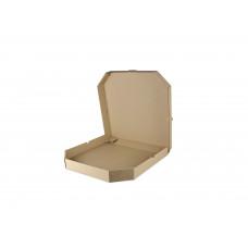 Коробка под пиццу 25*25 бурая без печати 100/уп