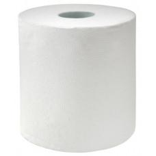Полотенца бумажные Plushe Professional (Матик) высота 20см,белая 1 сл., 160 м х 6
