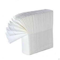 Полотенца бумажные Zcл 23х23 1-сл бел
