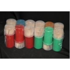 Зубочистки в пласт.жесткий (100шт/бан) Эконом